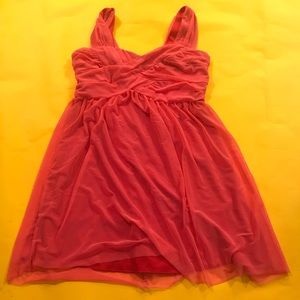 Bebe cocktail dress pink